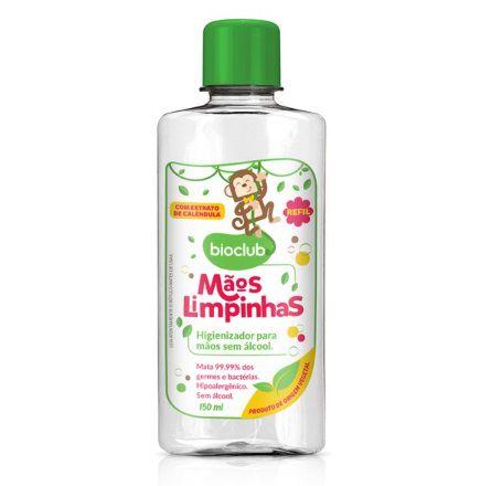 Refil Higienizador para Mãos do Bebê sem Álcool 150 ml - Bioclub