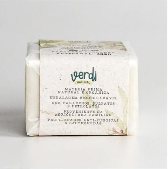 Sabonete Corporal Antisséptico e Revigorante - Verdi Natural