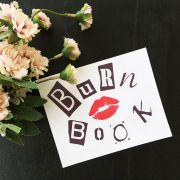 Adesivo Burn Book - Livro do Arraso
