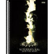 Caderno Supernatural - Dean, Sam & Cass