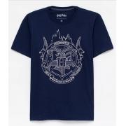 Camiseta Harry Potter Hogwarts (Brilha no Escuro)