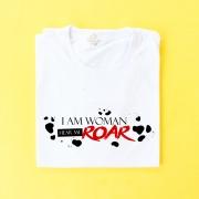Camiseta Cruell I Am Woman Hear Me Roar
