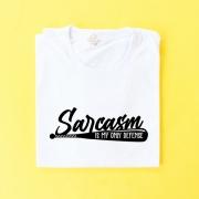 Camiseta Wolf Sarcasmo é Minha Única Defesa