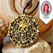 Colar Medalhão Pirata