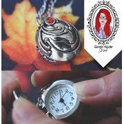 Colar Vampire Relógio Porta Verbena