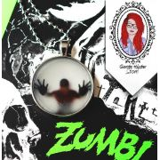 Colar Walking Zumbi (brilha no escuro)