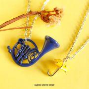 Colares How I Guarda-Chuva Amarelo + Trompa Azul