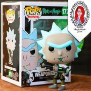 Funko Pop! Rick and Morty - Weaponized Rick #172