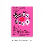 Placa Decorativa Burn Book