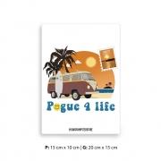 Placa Decorativa Outer Pogue 4 Life