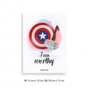 Placa Decorativa Vingador / Thor