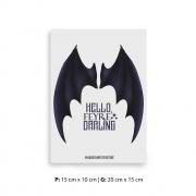 Placa Decorativa Acotar / Corte de Espinhos / Hello Feyre