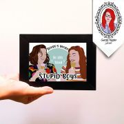 Quadro Decorativo Stranger Stupid Boys
