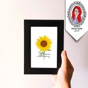 Quadro Decorativo Sunflower