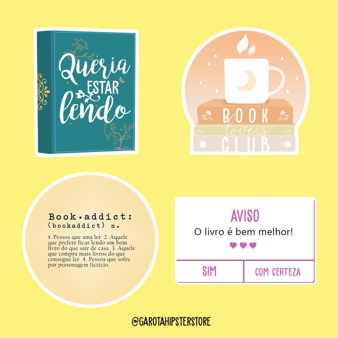 Adesivos Livro / Lovers