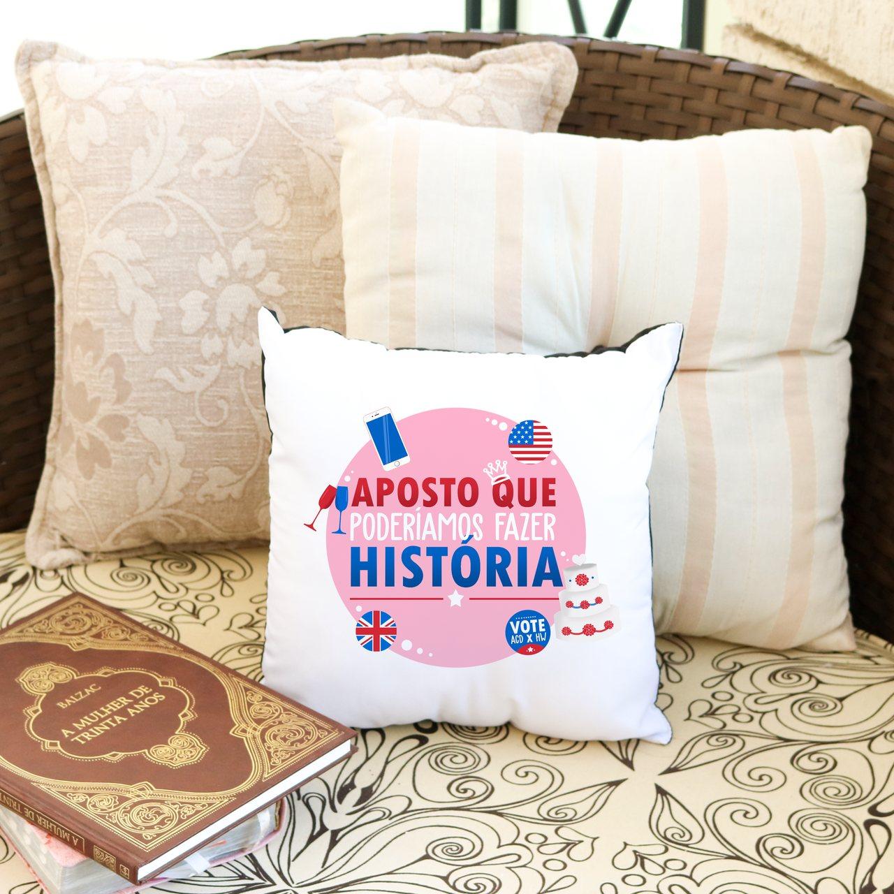 Almofada Fazer História