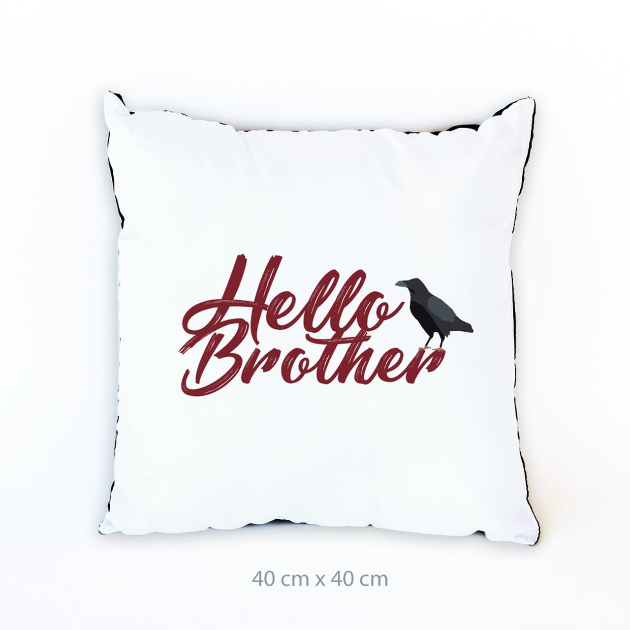 Almofada Vampire Hello Brother