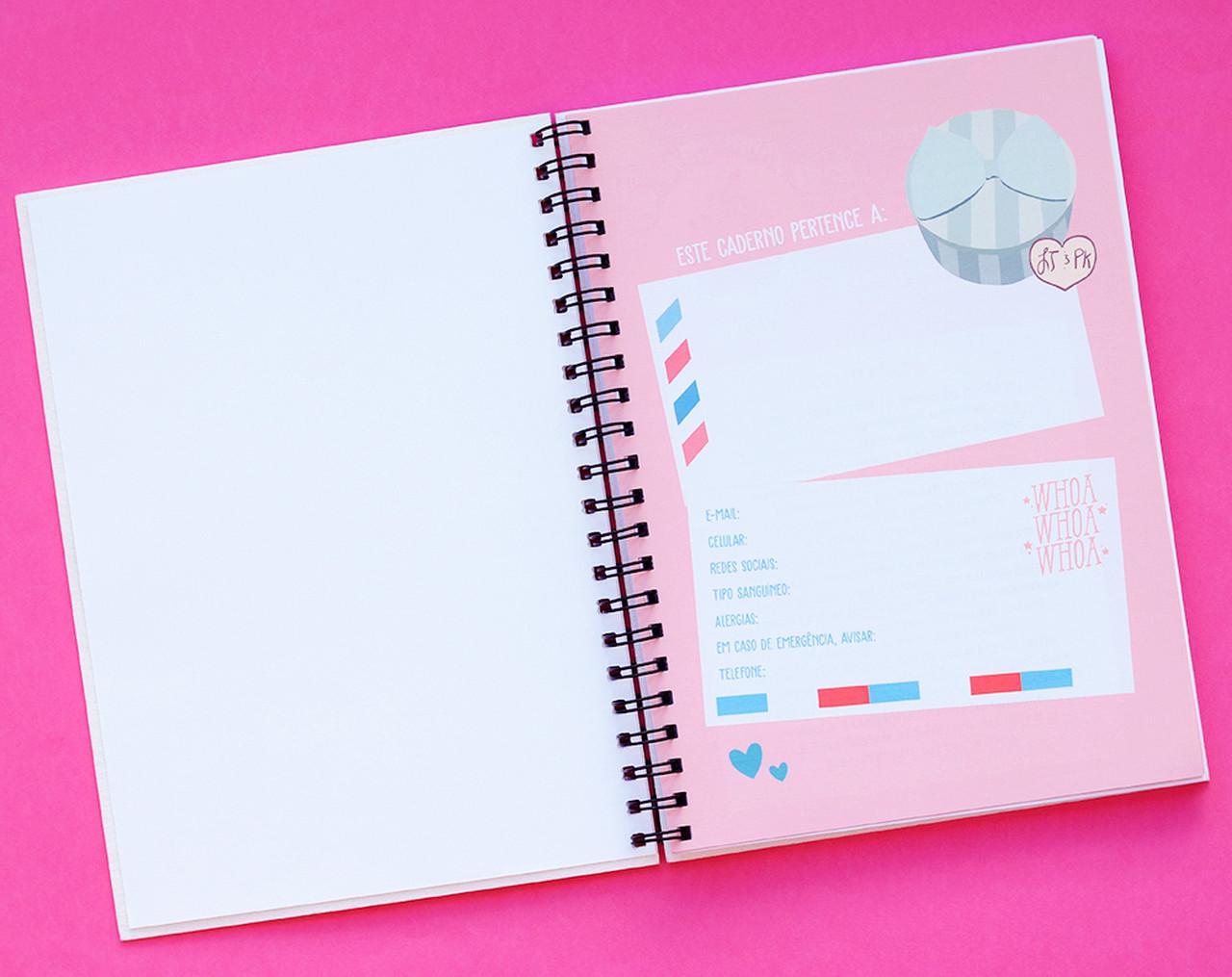 Caderno Artesanal Garotos Que Amei - Edição Limitada