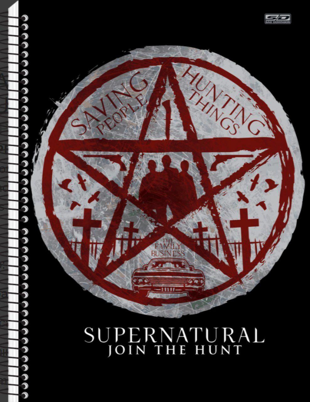 Caderno Supernatural - Pentagrama