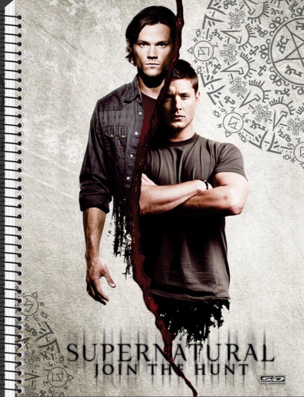 Caderno Supernatural - Sam & Dean