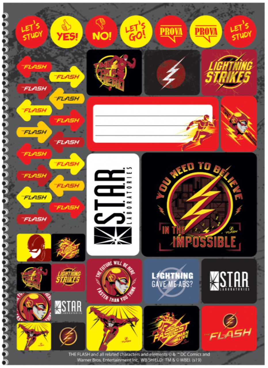 Caderno The Flash - Lightning Strikes