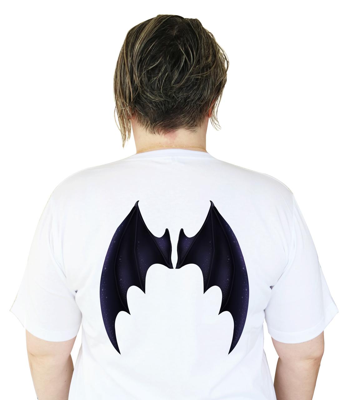 Camiseta Acotar Hello, Feyre (Detalhe nas Costas)