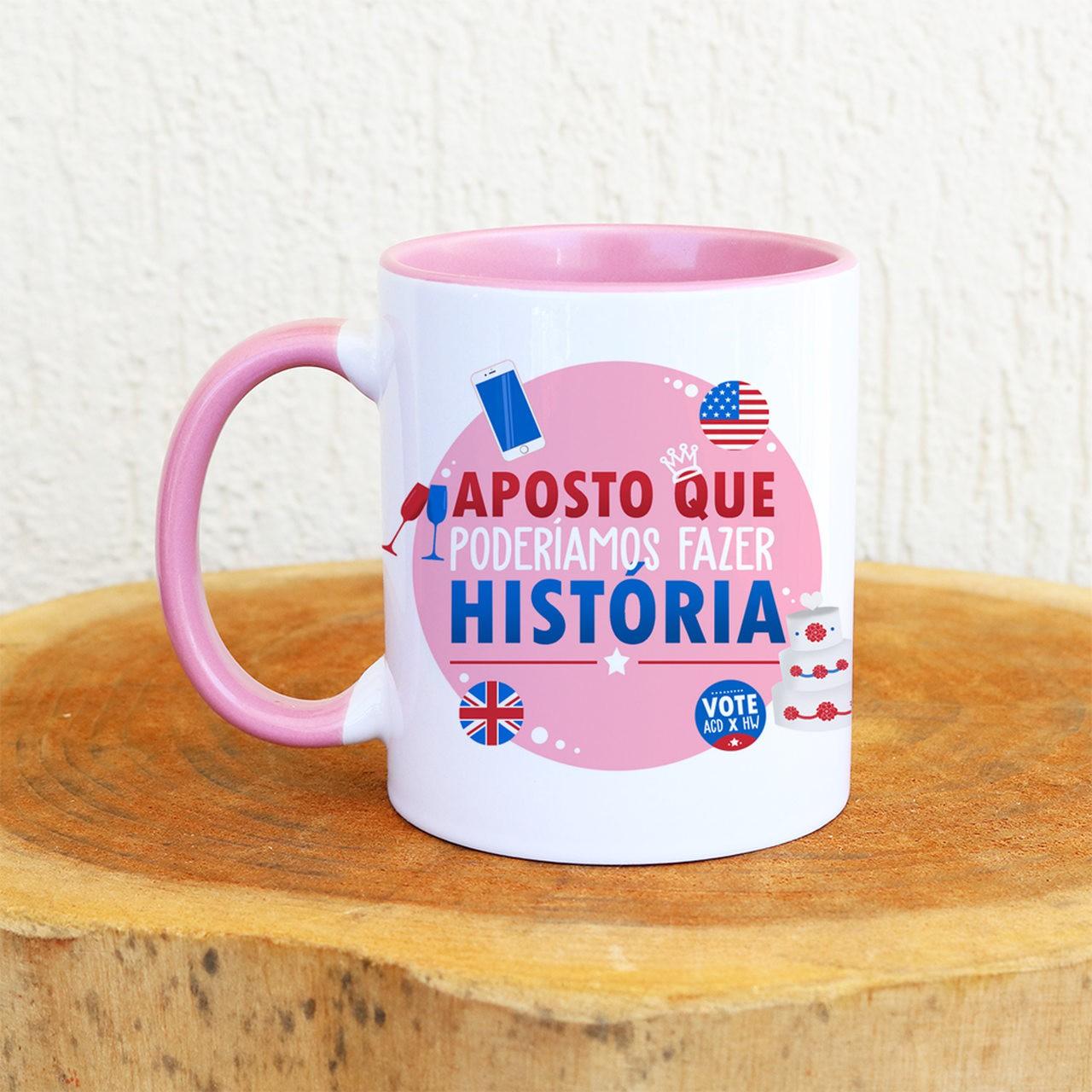 Caneca Aposto Que Poderíamos Fazer História