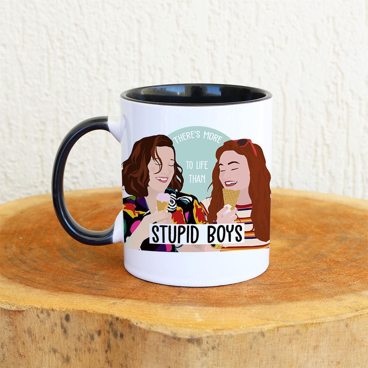 Caneca Stranger  Stupid Boys