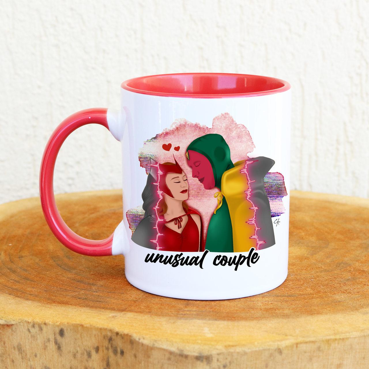 Caneca Wanda Unusual Couple (Escolha a Frase)