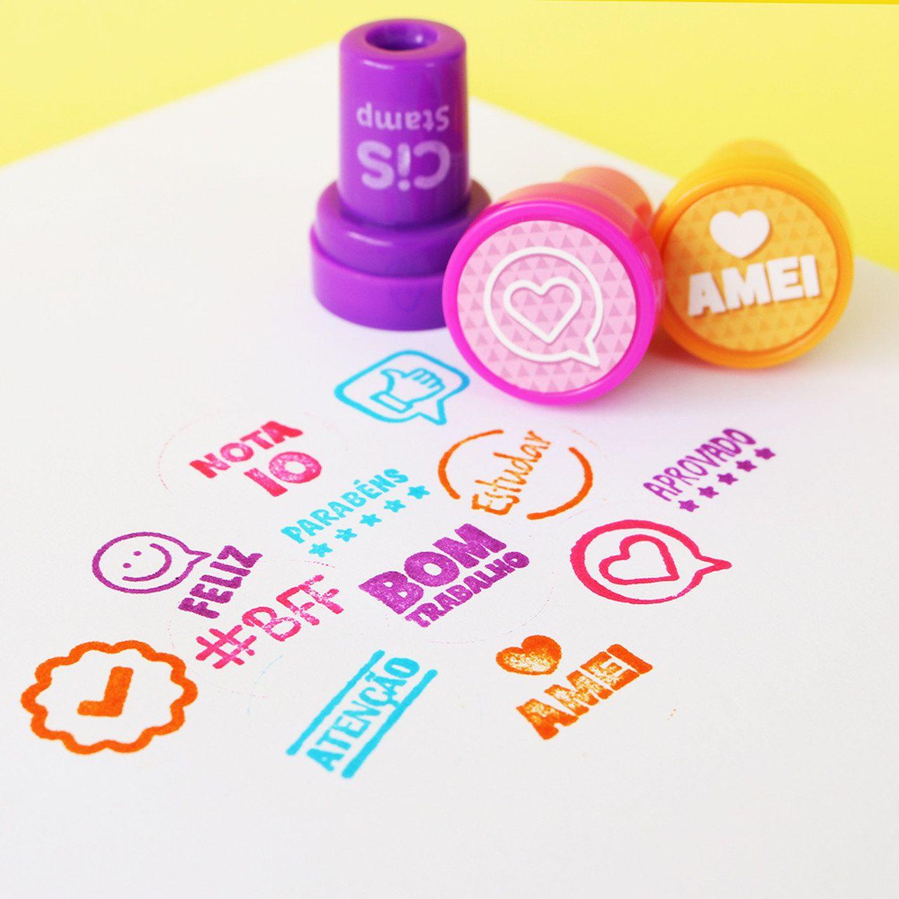 Carimbo Cis Stamp Pedagógico