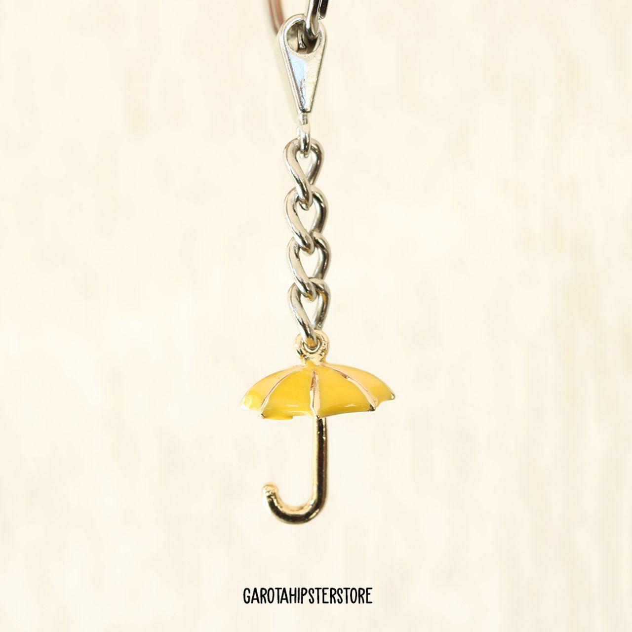 Chaveiro How I - Guarda-chuva Amarelo