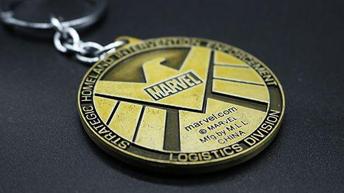 Chaveiro Shield Dourado