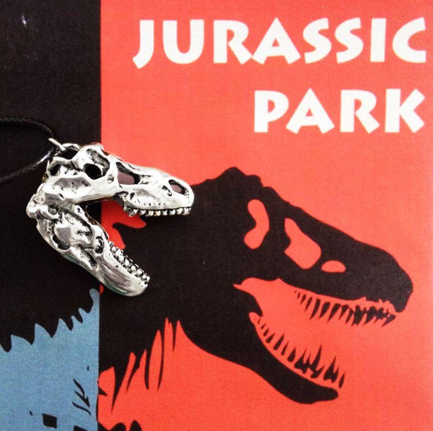 Colar Crânio De Dinossauro