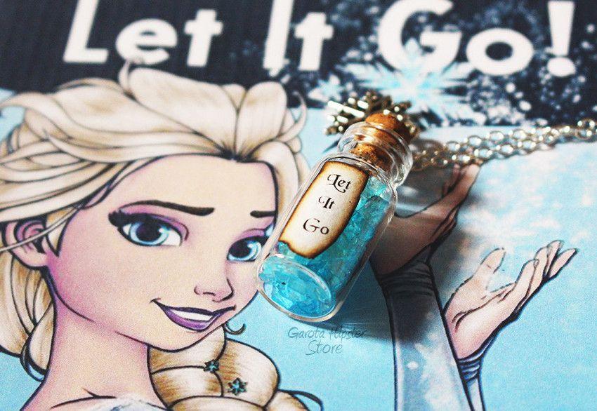 Colar Frozen Let It Go
