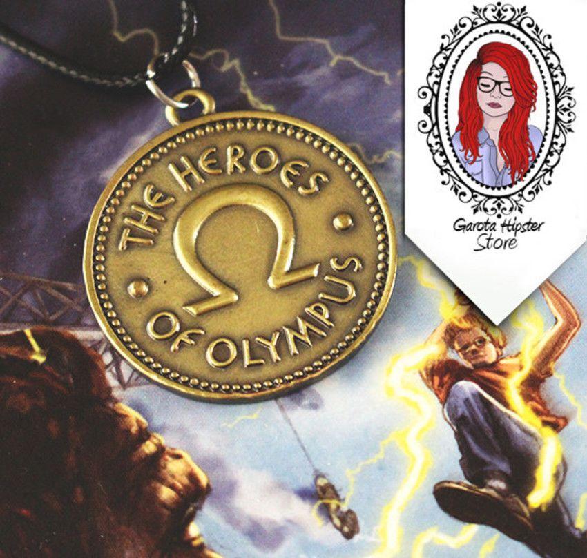 Colar Percy Heróis Do Olimpo