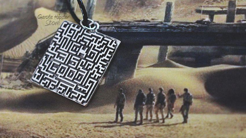 Colar Maze Prova De Fogo