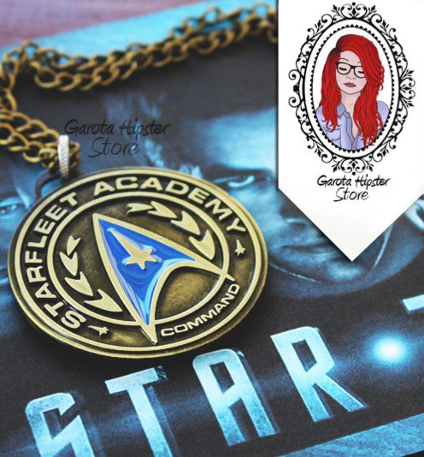 Colar Medalha Frota Estelar