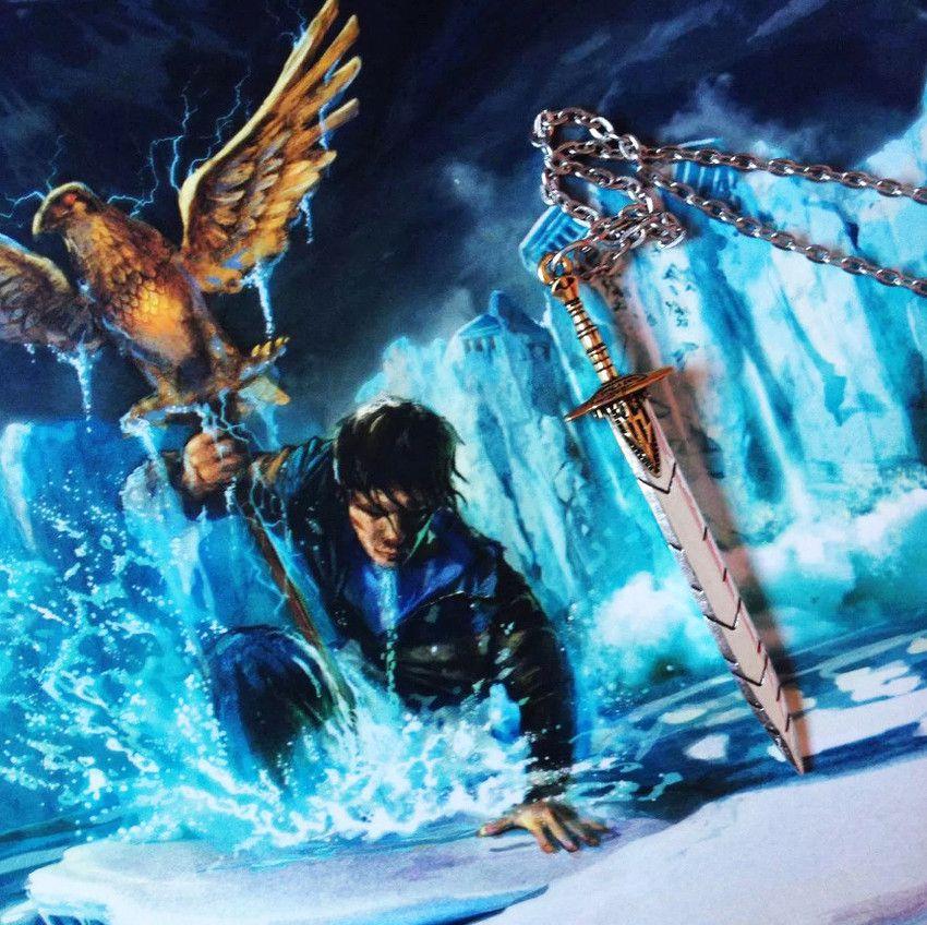 Colar Espada Anaklusmos Percy