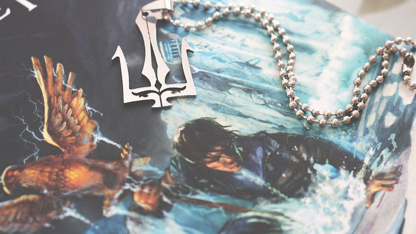 Colar Percy Tridente De Poseidon