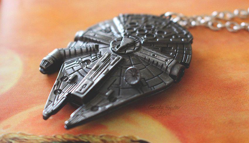 Colar Star Nave Millennium