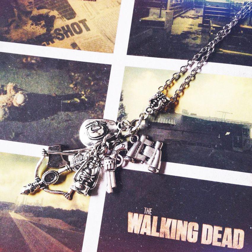 Colar Walking Mortos Vivos