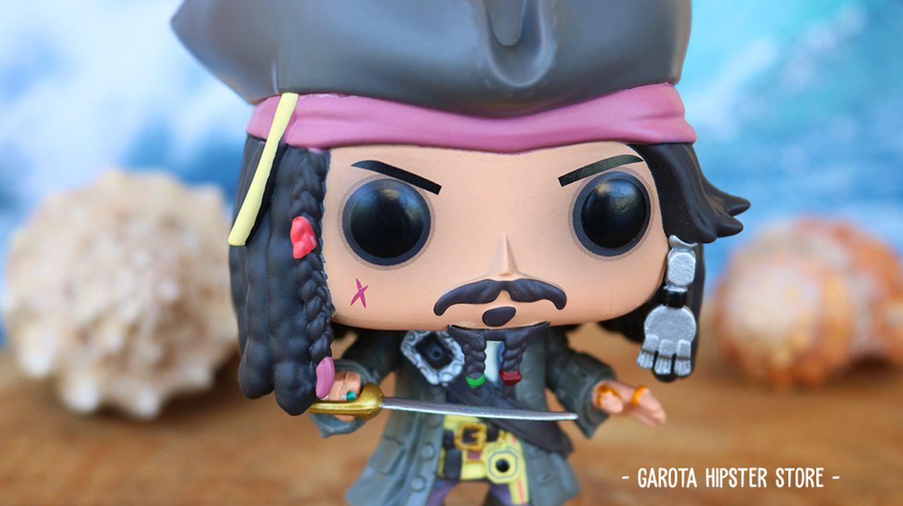Funko Pop! Piratas do Caribe - Jack Sparrow #273