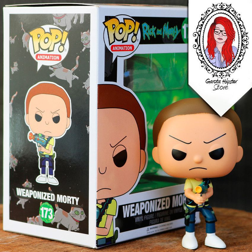 Funko Pop! Rick and Morty - Weaponized Morty #173