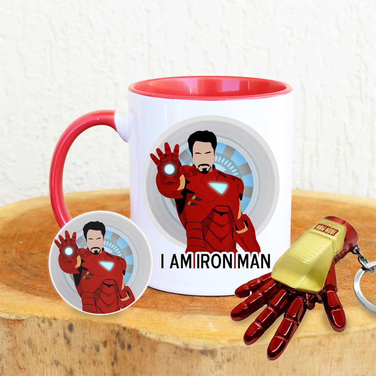 Kit ou Somente a Caneca Homem I Am Iron