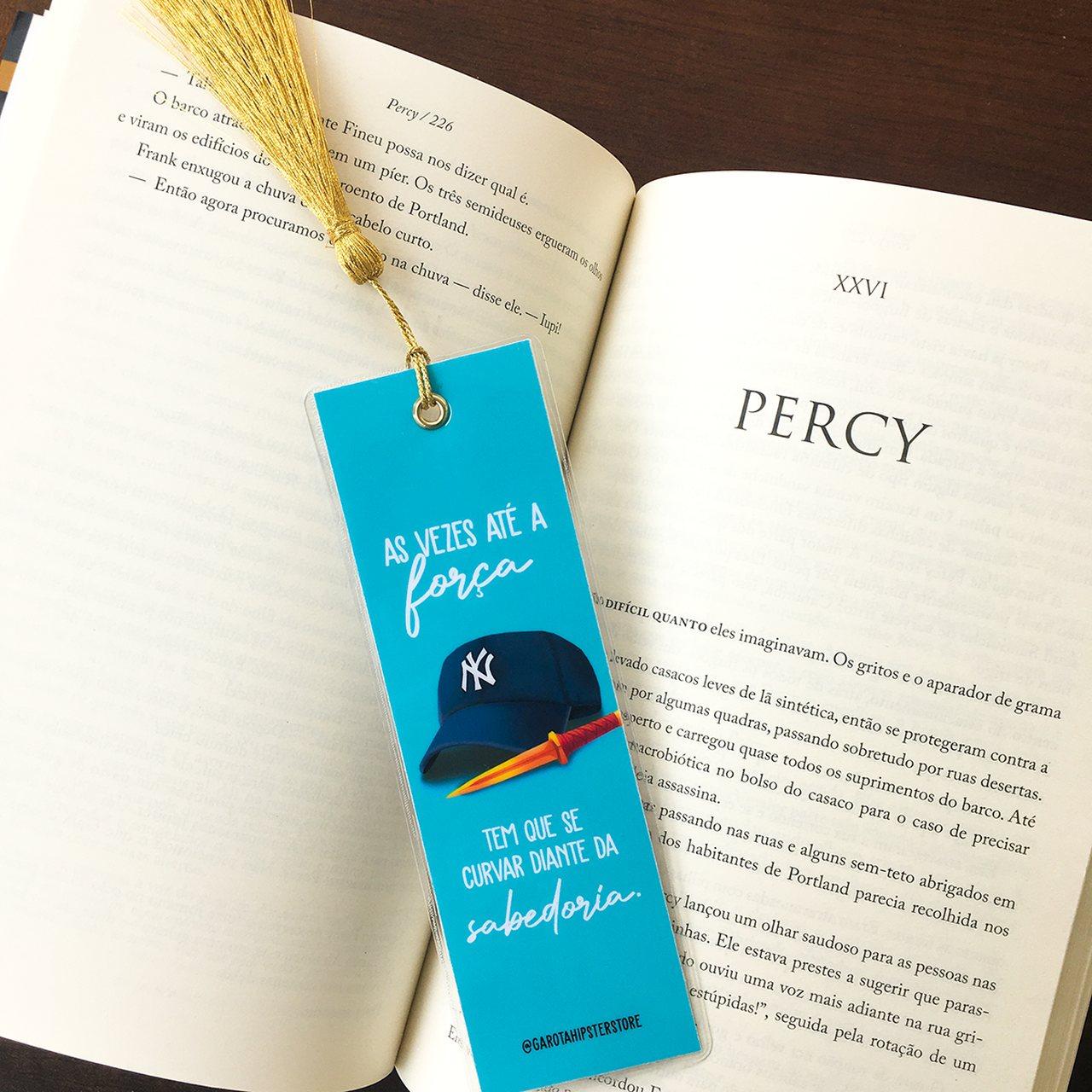 Marca Páginas Percy (Escolha o Modelo)
