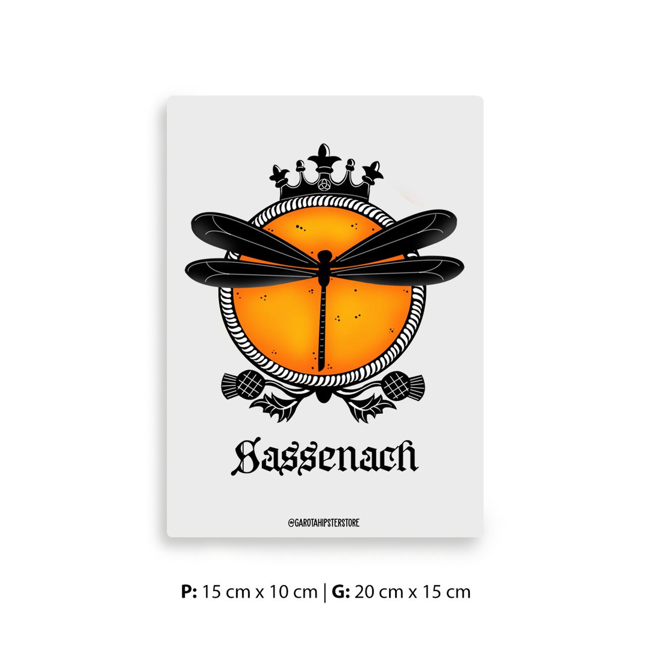 Placa Decorativa Outlander / Sassenach