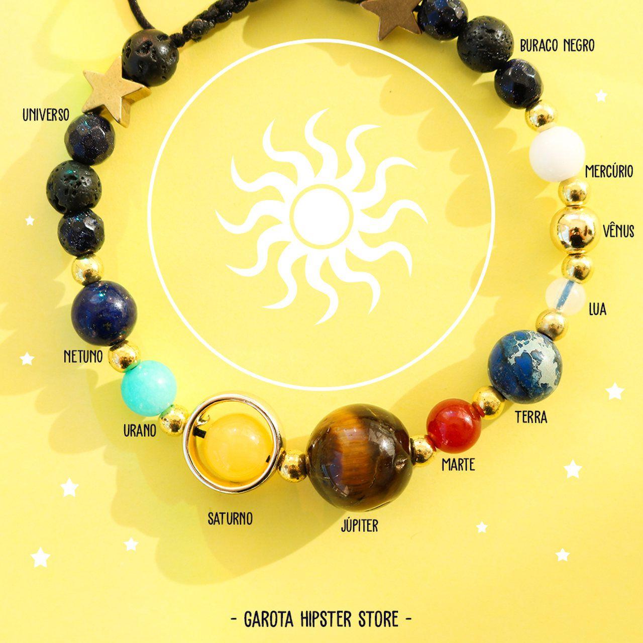 Pulseira Planetas Sistema Solar