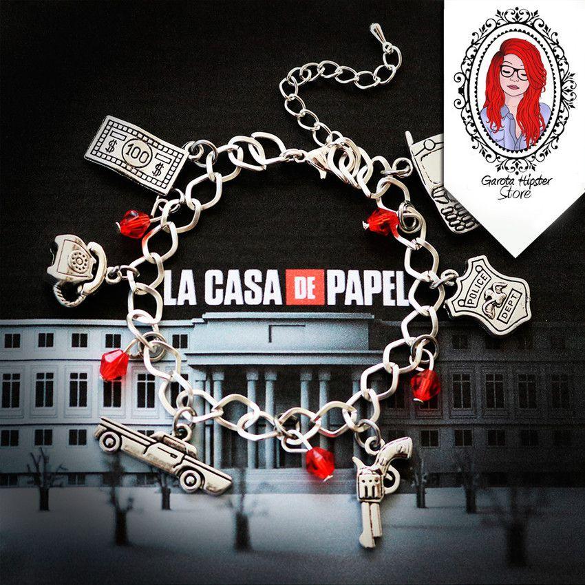 Pulseira La Casa -Bella Ciao