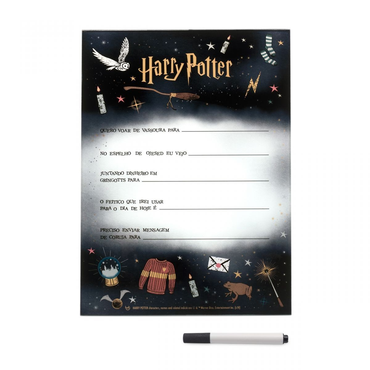 Quadro Customizável Harry Potter
