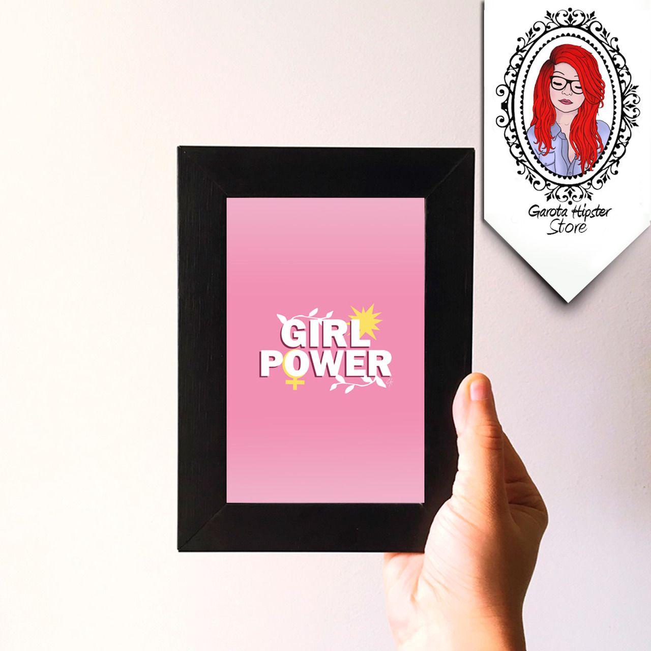 Quadro Girl Power